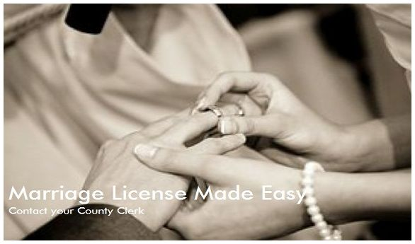 Marriage License Instruction Link