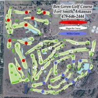 Ben Geren Golf Course Layout
