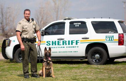 Sebastian County Government > Sheriff > K9 Unit